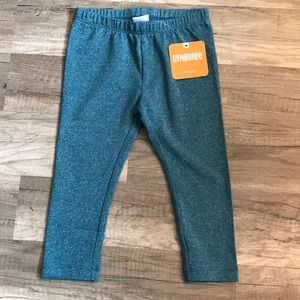 Gymboree Green Glittery Leggings NEW *2/$20